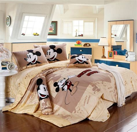 mickey mouse twin bed in a bag disney licensed mickey mouse 7pcs twin full queen size