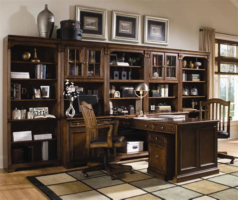 furniture brookhaven office wall unit belfort