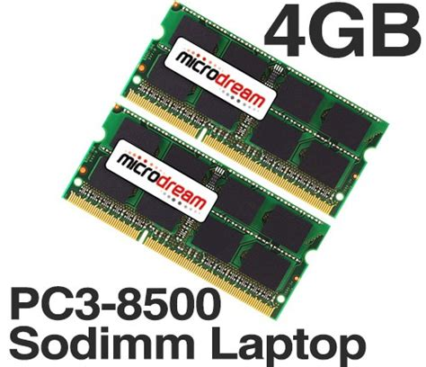Memory 4gb Ddr3 Sodimm Pc 8500 4gb 2x2gb pc3 8500 1066mhz 204pin ddr3 sodimm laptop memory ram