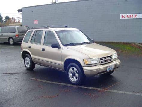 1997 Kia Sportage Mpg 1997 Kia Sportage For Sale Carsforsale