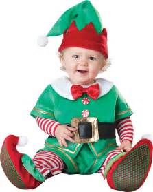 Santas little elf baby costume girls costumes santa costume