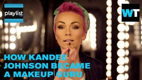 eyeliner tattoo kandee johnson makeup artist kandee johnson transforms herself with just