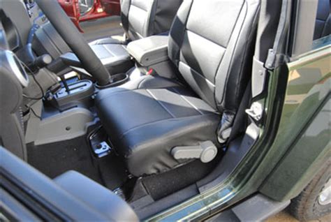 wrangler seat covers leather jeep wrangler 2007 2012 iggee s leather custom seat cover