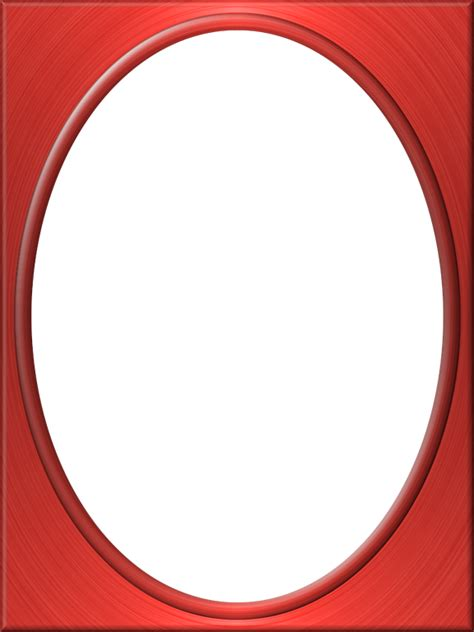 presentation photo frames tall plain oval style 01