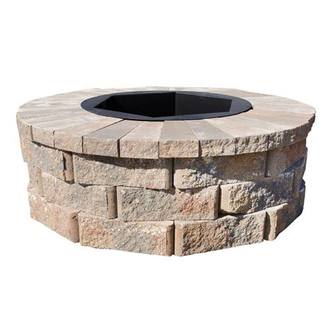 fire pit kit rosetta fire pits are sold as kit block