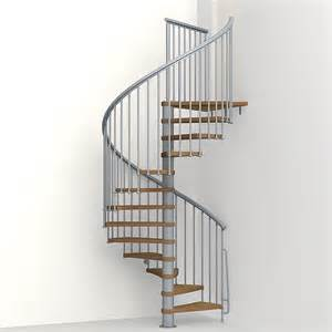 Stair Handrail Lighting Shop Arke Nice1 63 In X 10 Ft Gray Spiral Staircase Kit At