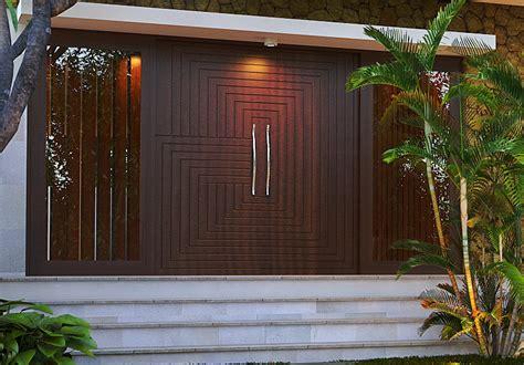 model pintu rumah minimalis modern menurut feng shui