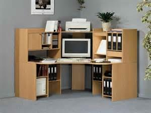 furniture computer desk bookshelf with grey wall