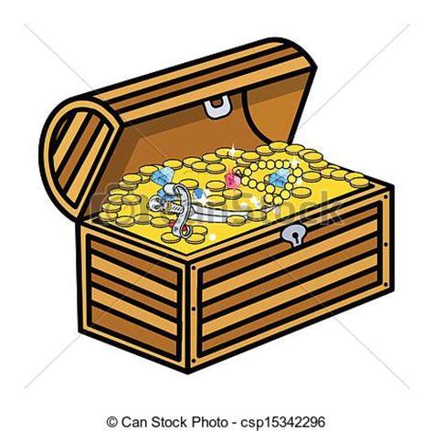 dibujo de un tesoro eps vectores de caja tesoro vector dibujo arte de