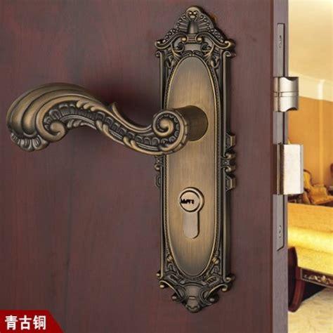 brass bathroom door handles with lock free shipping antique brass door lock handle room door