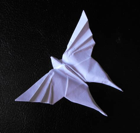 Photos Of Origami - file motyl origami jpg wikimedia commons