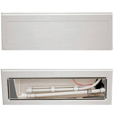 bathtub access panel alcove tub bathtub with skirt flange for 3 wall alcove
