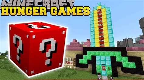 hunger games mod in minecraft minecraft pat s house hunger games lucky block mod
