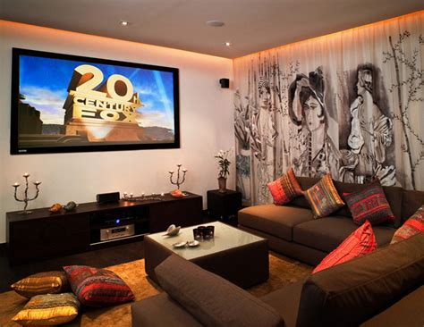 the living room theater pinterio living room home cinema