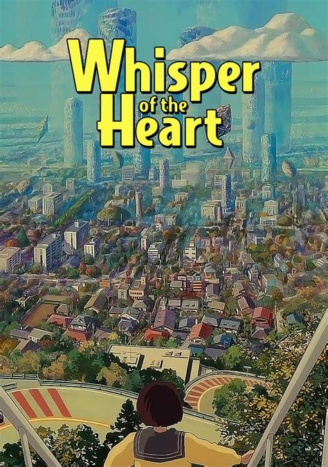 whisper the whisper of the heart movie fanart fanart tv