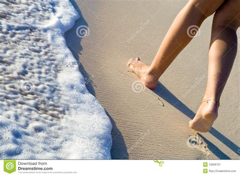 walking on two legs two legs walking on sand stock image image 13009731
