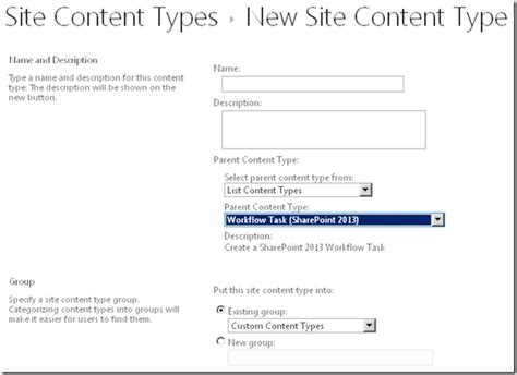 types of workflows in sharepoint 2010 sharepoint workflow content type 28 images build a