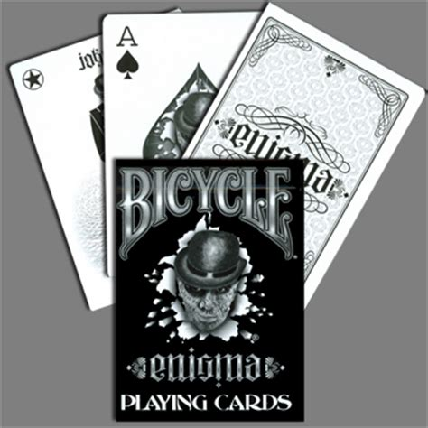 Bicycle Enigma Card enigma deck bicycle martin