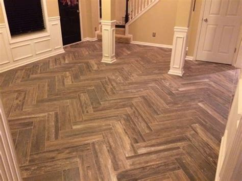 tile pattern wood look 17 best images about my dining room remodel on pinterest