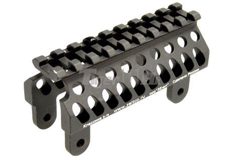 5ku Pk 1 Aluminum Ak Foregrip Aluminum Construction 5ku aluminum b19 rail handguard for ak series rifle bk airsoft tiger111hk area