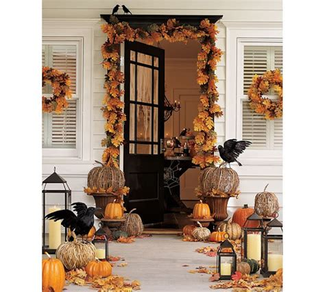 how to decorate porch for fall decorating your outdoor entry for fall driven by decor