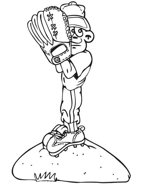 baseball girl coloring page printable baseball pitcher coloring page small boy