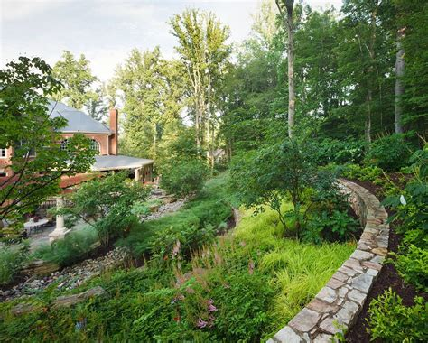 Hillside Gardening Ideas Hillside Garden Ideas Landscape Contemporary With Mass