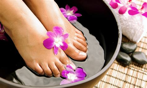 Home Pedicure Foot Detox by Foot Reflexology New Spa Groupon
