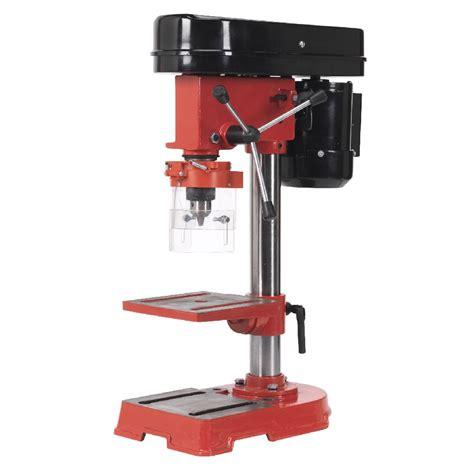 sealey bench drill sealey pillar drill 5 speed hobby model 580mm tall 350w