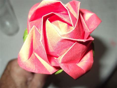 Rosa De Origami - rosa de origami festas origamidau elo7