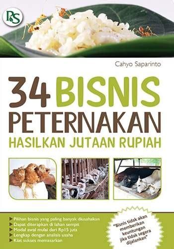 Buku 34 Bisnis Peternakan Jutaan Rupiah Buku 34 Bisnis Peternakan Hasilkan Jutaan Rupiah Toko