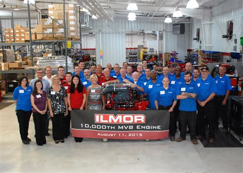 ilmor marine celebrates production    marine  engine boating industry