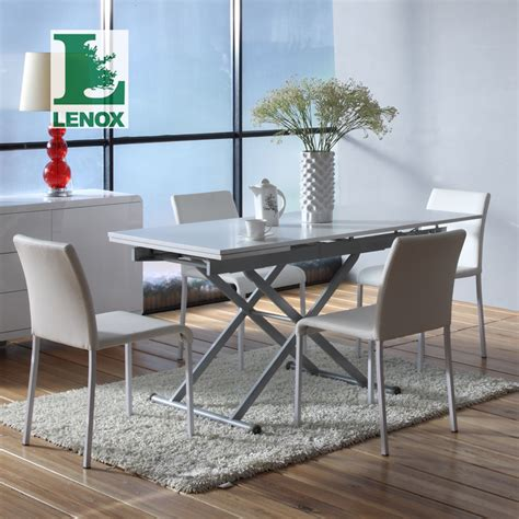small dining tables for apartments lenox combination telescopic multipurpose folding table