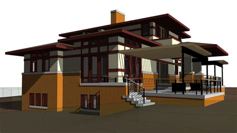 architecture house designs small prairie style house plans 3d house style design