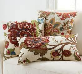 pottery barn bed pillows riley floral embroidered pillow covers pottery barn