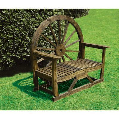 wheel garden bench wagon wheel bench i highly doubt nick will make me one of