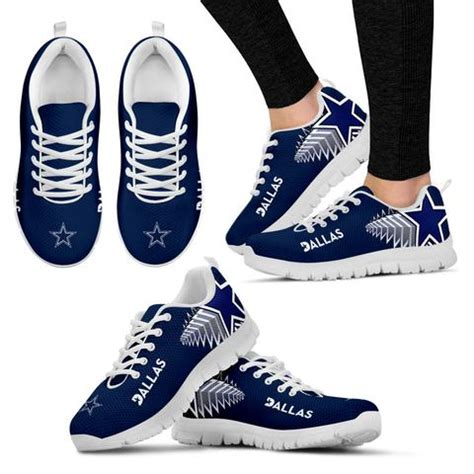 nfl shoes for fans nfl dallas cowboys sneakers the fans avenue