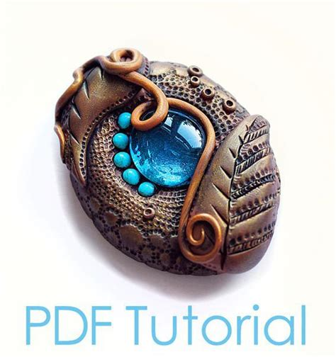 polymer clay jewelry tutorials you to see polymer clay brooch tutorial antique le