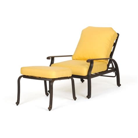 Wonderful Patio Chairs With Ottomans Best Patio Chair With