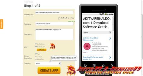 aplikasi membuat blog gratis cara membuat aplikasi android untuk blog web