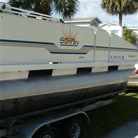 fish n fun pontoon boats fiesta sunray fish n fun pontoon 2010 for sale for 5 000