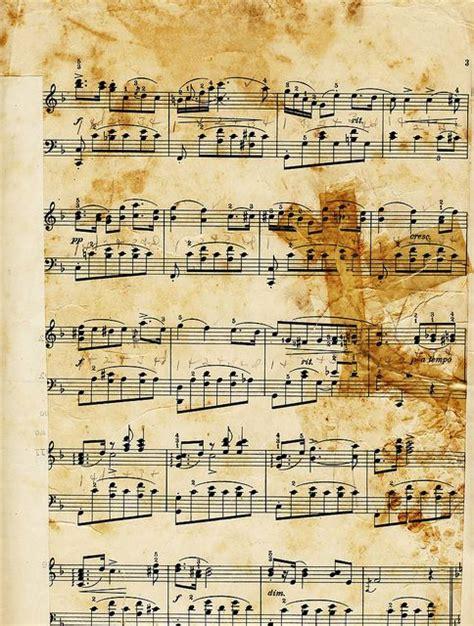 imagenes partituras antiguas mi baul del decoupage en clave de musica papel para