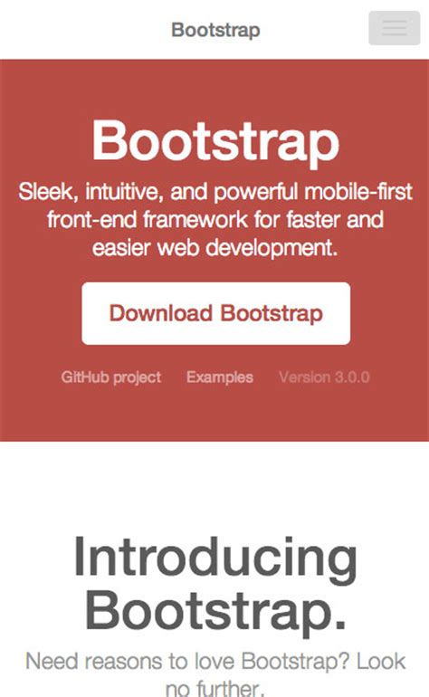 responsive layout bootstrap 3 tutorial bootstrap 3 an early overview and download link zak