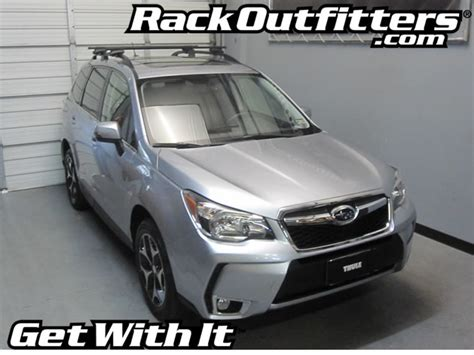 Subaru Forester 2014 Roof Rack by Rack Outfitters New Subaru Forester Thule Crossroad
