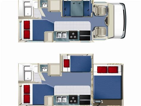 Small Rv Floor Plans by Volans Rv 22 24ft Vehicle Information By Star Rv