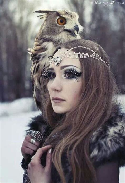 Cincin Aksesoris Fantasi Owl 2 of the forest photo shoot ideas owl and witches