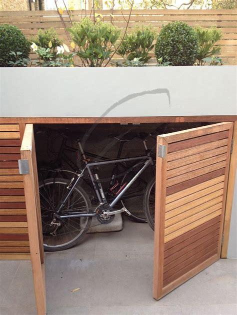 17 best ideas about garden bike storage on