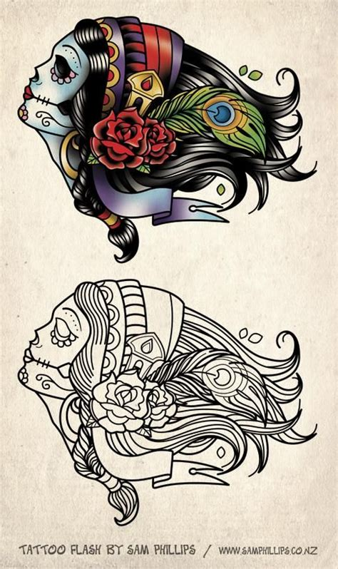 tattoo flash girl the 25 best ideas about gypsy girl tattoos on pinterest