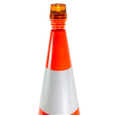 traffic cone led lights safety warning flashing warning