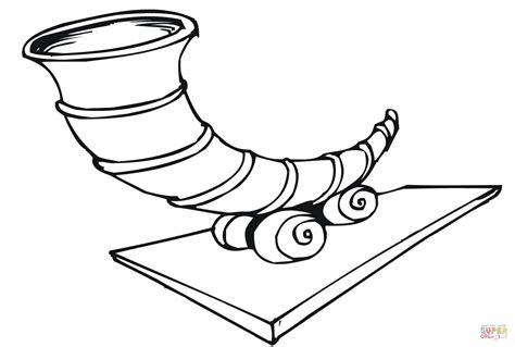 empty cornucopia coloring page az coloring pages